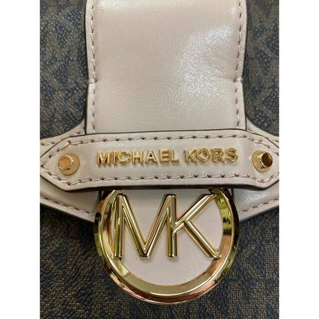 Michael Kors(マイケルコース)のMICHAEL KORS  JESSIE ミディアム MK フラップショルダー レディースのバッグ(ショルダーバッグ)の商品写真