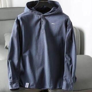 descendant mole hooded ls shirt 18ss