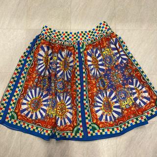 ドルチェアンドガッバーナ(DOLCE&GABBANA)のdolce&gabbana マヨリカ スカート(ひざ丈スカート)