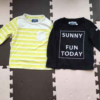 エニィスィス(anySiS)のキッズ110サイズロングTシャツ2枚セット(Tシャツ/カットソー)
