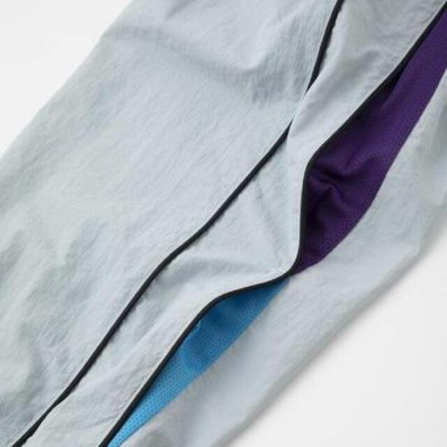 XLARGE(エクストララージ)の19ss X-Large エクストララージ★ロゴ刺繍 ナイロンパンツ★グレー メンズのパンツ(デニム/ジーンズ)の商品写真
