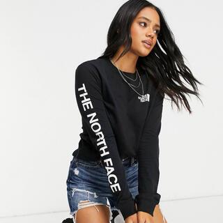 ザノースフェイス(THE NORTH FACE)の【Lサイズ】新品 THE NORTH FACE シンプル ロゴ ロンT ブラック(Tシャツ(長袖/七分))