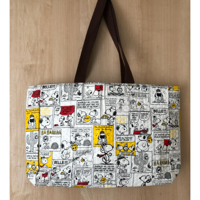 SNOOPY(スヌーピー)のスヌーピー エコバッグ トートバッグ  レディースのバッグ(エコバッグ)の商品写真