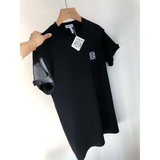 LOEWE エロべ シンプル 半袖Tシャツ黒MLXLXXL選択可能