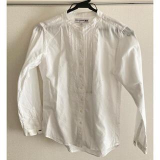 UNIQLO - コットンツイルピンタックシャツ ユニクロ