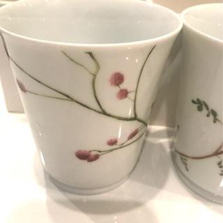 ナルミ(NARUMI)のナルミ里花暦ペアマグ(グラス/カップ)