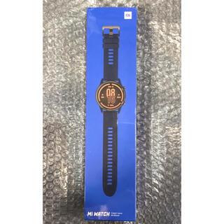 Xiaomi mi watch ブルー系カラー 新品未開封 日本語対応 ◎(腕時計(デジタル))