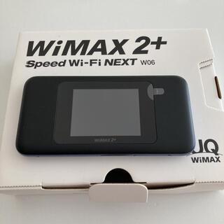 ファーウェイ(HUAWEI)のモバイルルーター WiMAX W06(その他)