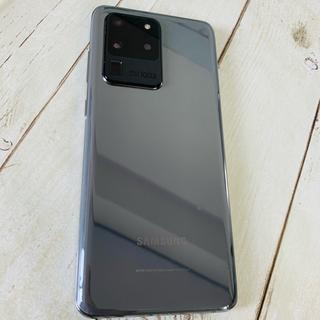 SAMSUNG - Galaxy S20 Ultra 5G 256GB Grey SIMフリー