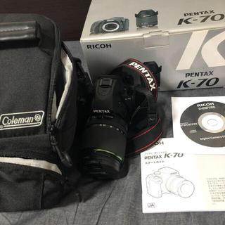 PENTAX - PENTAX k-70 デジタル一眼レフカメラ