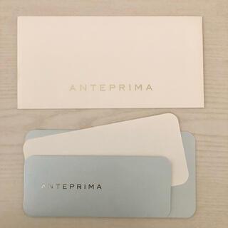 アンテプリマ ANTEPRIMA メッセージカードと封筒セット 郵便可