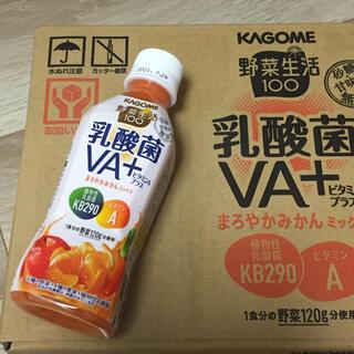 KAGOME - 野菜生活100 乳酸菌VA+ まろやかみかんミックス24本