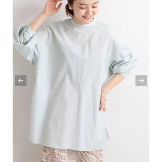 IENA - コットンブロードバックボタンシャツ 美品
