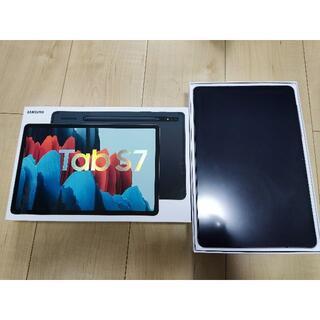SAMSUNG - 【新品同様】Galaxy Tab S7 128GB WIFI ブラック おまけ付