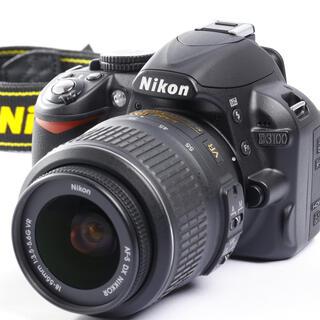 Nikon - ニコン 初心者用一眼レフ★カメラがガイドしてくれる親切カメラ★D3100