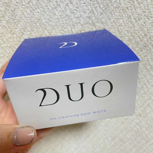 DUO(デュオ) ザ クレンジングバーム ホワイト(90g) コスメ/美容のスキンケア/基礎化粧品(クレンジング/メイク落とし)の商品写真