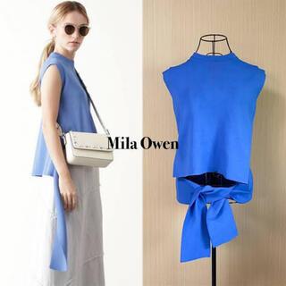Mila Owen - mila owe サマーニット ノースリーブニット