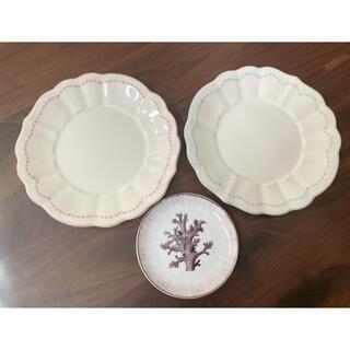 ザラホーム(ZARA HOME)のZARA HOME プレート 3枚セット 美品(食器)