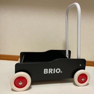 ブリオ(BRIO)のブリオ 手押し車 黒(手押し車/カタカタ)