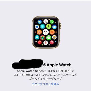 Apple Watch - Apple Watch series6  【美品】