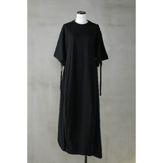ENFOLD - nagonstans CO Thick Jersey 立体ドレープドレス