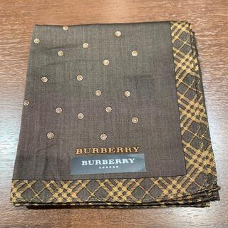 BURBERRY - バーバリーハンカチブラウン