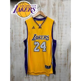 アディダス(adidas)のMENS メンズ NBA エヌビーエー レイカーズ ユニフォーム バスケ(タンクトップ)