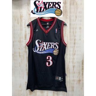 アディダス(adidas)のMENS メンズ NBA sixers シクサーズ ユニフォーム バスケ(タンクトップ)