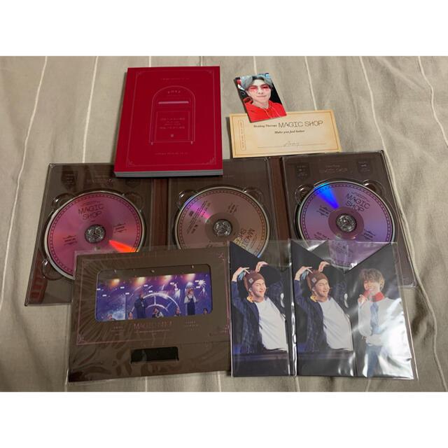 防弾少年団(BTS)(ボウダンショウネンダン)のBTS MAGIC SHOP DVD エンタメ/ホビーのDVD/ブルーレイ(アイドル)の商品写真