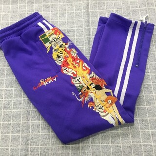 FACETASM - doublet CHAOS EMBROIDERY TRACK PANTS