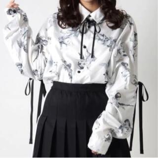 TRAVAS TOKYO リボンシャツ 天使 エンジェル
