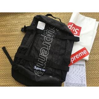 シュプリーム 18FW backpack