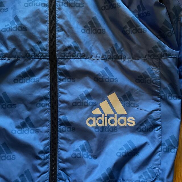 adidas(アディダス)のアディダス  キッズ ウィンドブレーカー 140 アウター キッズ/ベビー/マタニティのキッズ服男の子用(90cm~)(ジャケット/上着)の商品写真