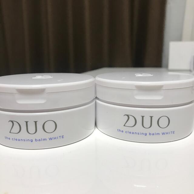 DUO  クレンジングバーム ホワイト コスメ/美容のスキンケア/基礎化粧品(クレンジング/メイク落とし)の商品写真