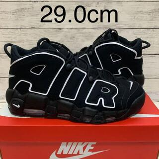 NIKE AIR MORE UPTEMPO BLACK WHITE(スニーカー)
