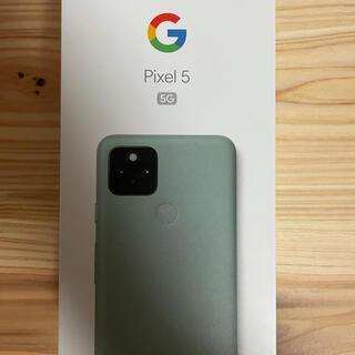 Google Pixel - 【新品未使用】Pixel5 SIMロック解除済み