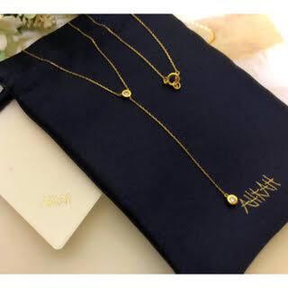 AHKAH - アーカー カースネックレス ダイヤオーダー品