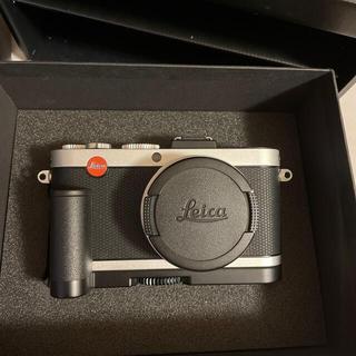 LEICA - ライカX2  ハンドグリップ レザーケース ストラップ付き