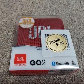 Bluetooth スピーカー JBL  GO2   レッド