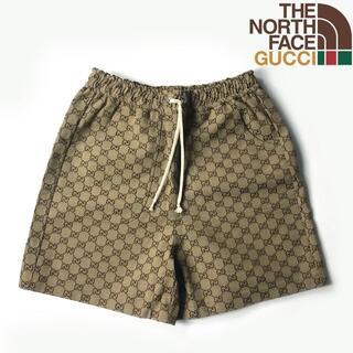 グッチ(Gucci)のGUCCI  THE NORTH FACE GG ショートパンツ(S)21026(ショートパンツ)