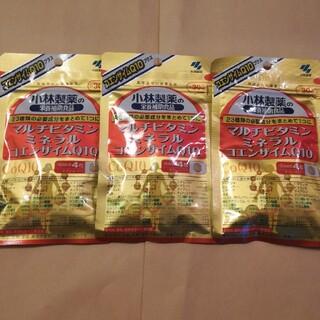コバヤシセイヤク(小林製薬)の小林製薬 マルチビタミン ミネラルコエンザイムQ10 30日分×3袋(ビタミン)