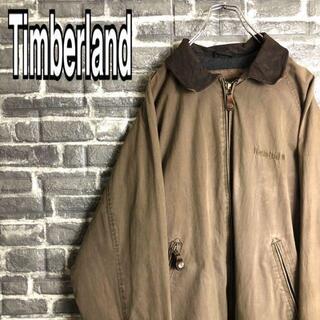 Timberland - ティンバーランド☆ジャケット ワンポイント刺繍ロゴ ゆるだぼ 古着
