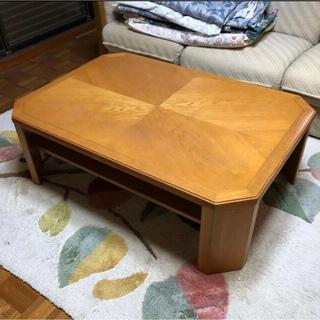 カリモクカグ(カリモク家具)のカリモク家具 ローテーブル 座卓 センターテーブル♪送料込み♪(ローテーブル)