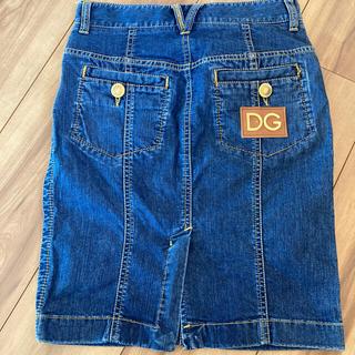 ドルチェアンドガッバーナ(DOLCE&GABBANA)のドルガバ デニムスカート(ひざ丈スカート)