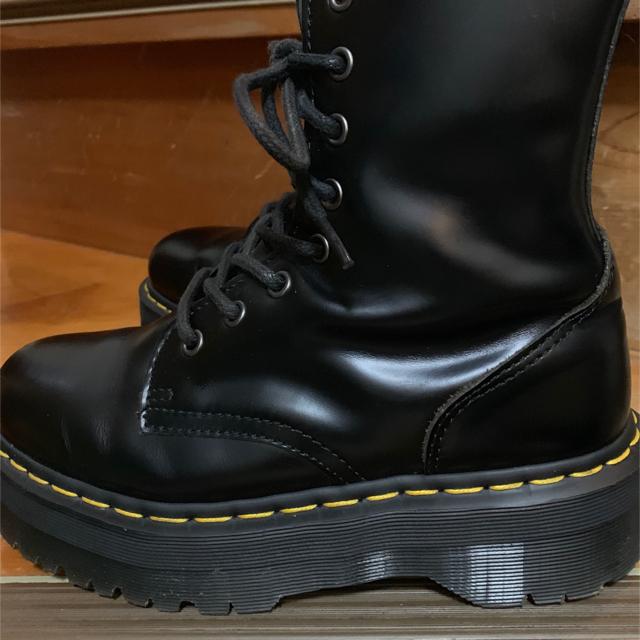 Dr.Martens(ドクターマーチン)のドクターマーチン 8ホール 厚底 24cm JADON レディースの靴/シューズ(ブーツ)の商品写真