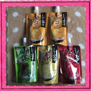 イムラヤ(井村屋)の井村屋 こだわりの氷みつ 5袋セット(菓子/デザート)