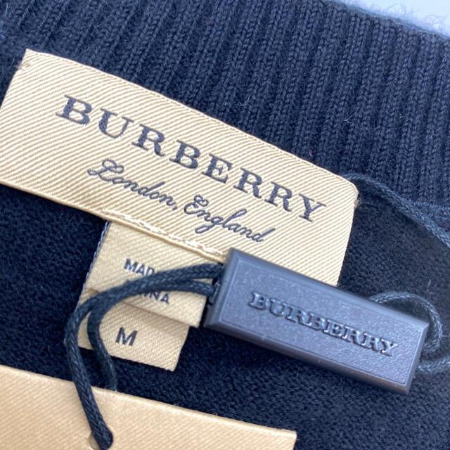 BURBERRY(バーバリー)の【送料無料❗️新品】 バーバリー カーディガン トップス アウター 黒 人気 レディースのトップス(カーディガン)の商品写真