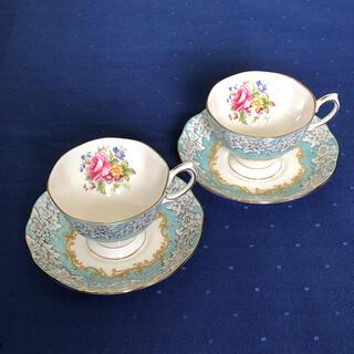 ロイヤルアルバート(ROYAL ALBERT)のロイヤルアルバート Enchantment  ティーカップ&ソーサー 2組(食器)