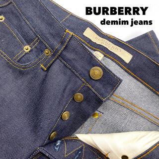 バーバリー(BURBERRY)の【送料無料❗️新品】 バーバリー カーディガン トップス アウター 黒 人気(デニム/ジーンズ)