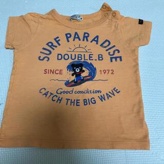 DOUBLE.B - ダブルB Tシャツ 90